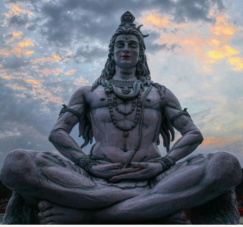 shiva mahadev statue
