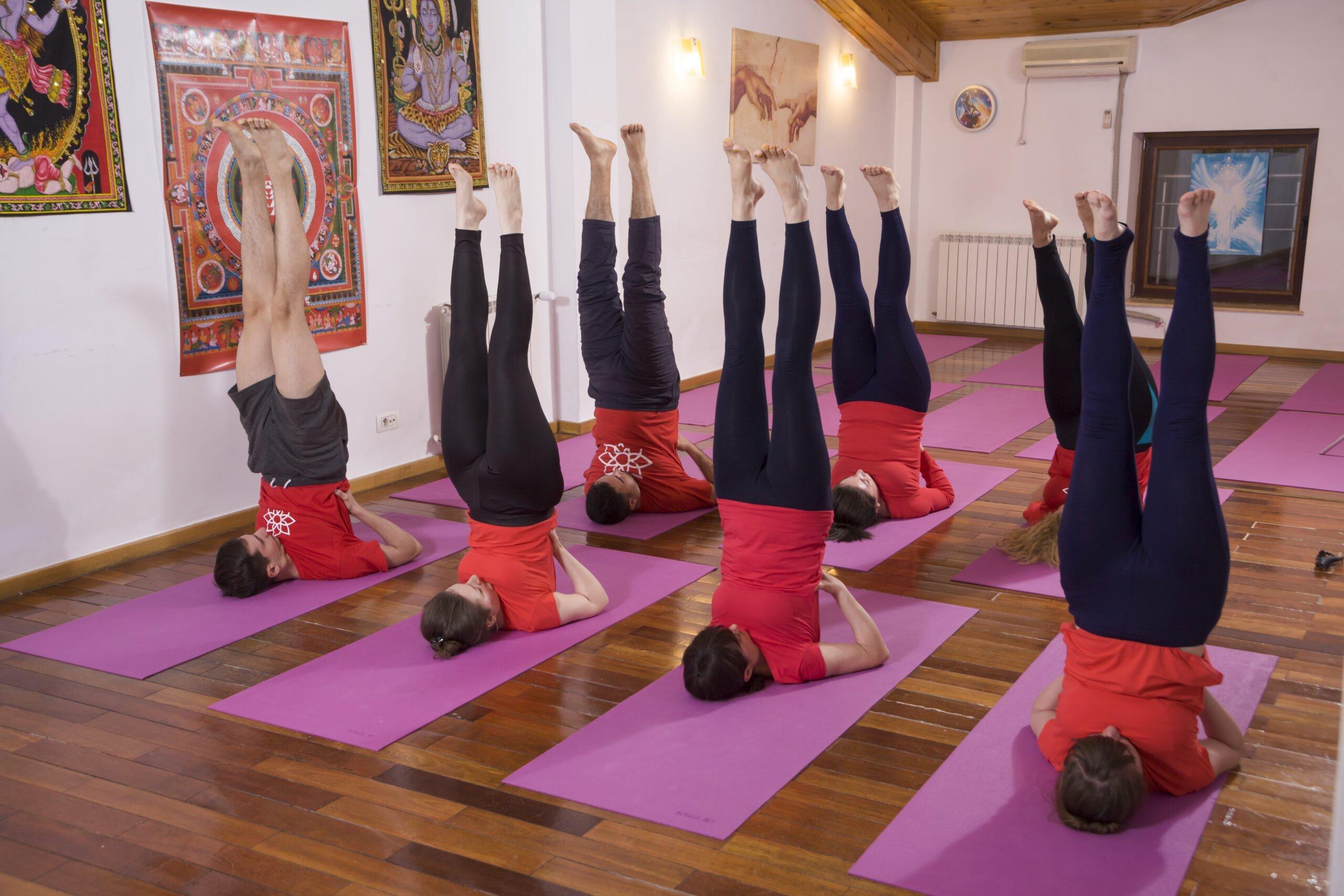 Sarvangasana - Abheda Yoga
