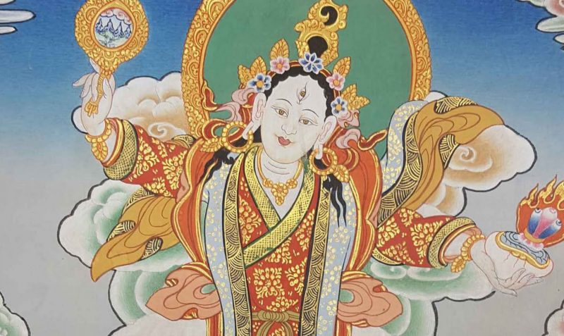 Mandarava-Thangka-Painting-e1567048571559